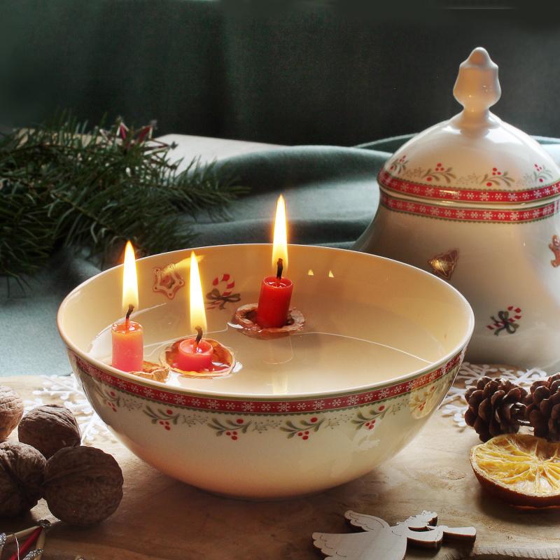 Schüssel 16 cm Weihnachtslebkuchen