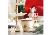 Set mit zwei Tassen 0,30 l Weihnachtslebkuchen