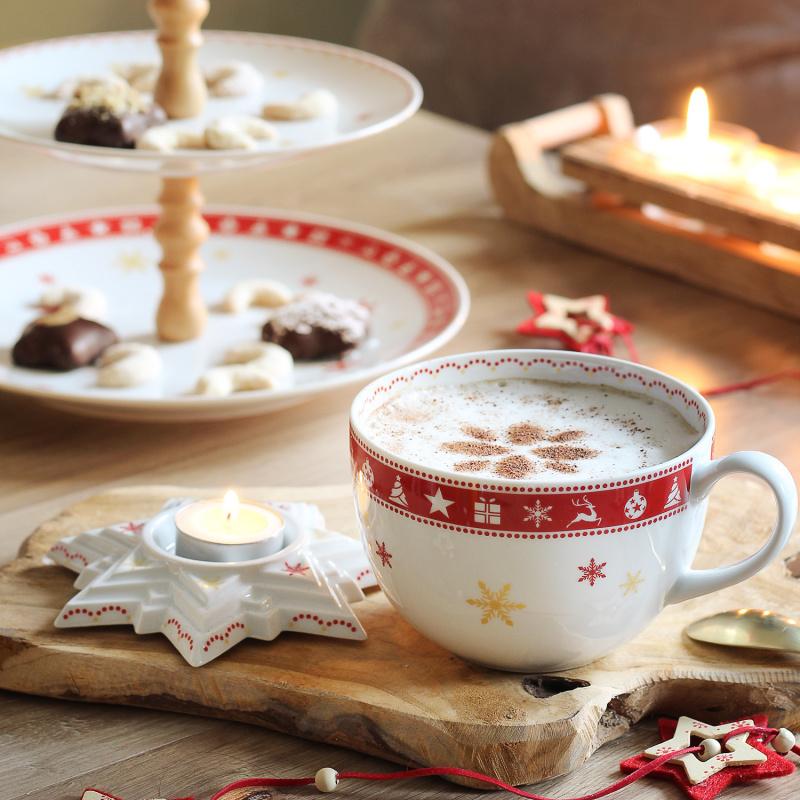 Kerzenhalter Adventsster Weihnachtsträume