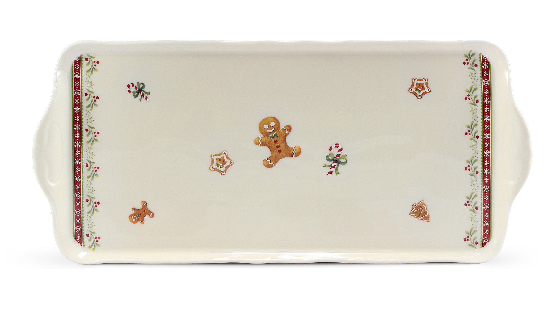 Tray square 36 cm Gingerbread cookies