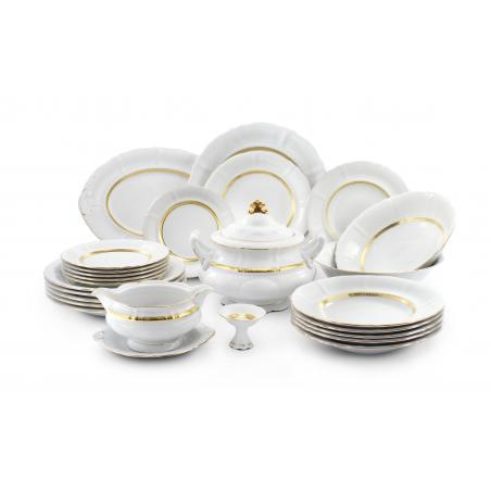 Dinner set 25-piece - Gold...