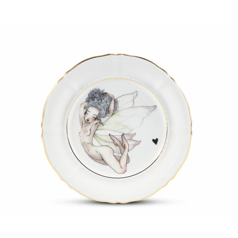 Dessert plate 19 cm Léna Brauner for Rudolf Kämpf