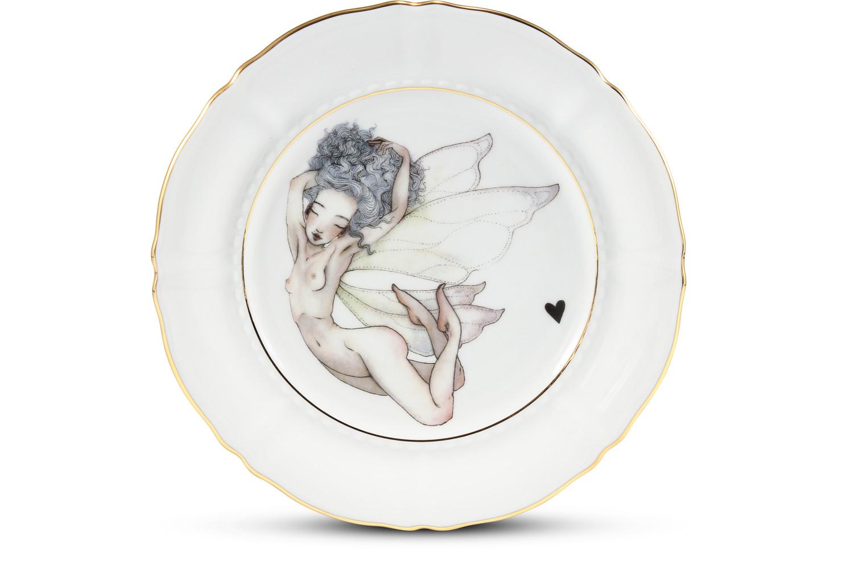 Dessertteller 19 cm Léna Brauner pro Rudolf Kämpf