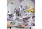 Tea set 15-piece Violets