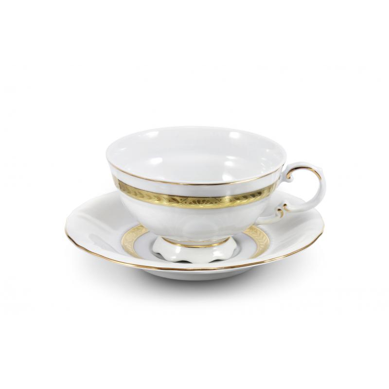 Cup and saucer Gold braid