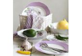 Soup plate 23 cm Violets