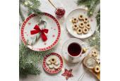 Dessertteller Weihnachtsträume
