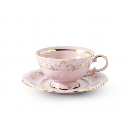 Cup and saucer 0.20 l Rose...