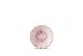 Miska kulatá hluboká 8 cm Girlanda z růží růžový porcelán
