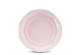 Talíř dezertní 19 cm Krajka růžový porcelán