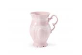 Šálek vysoký cappuccino 0,22 l Krajka růžový porcelán