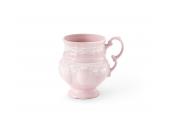 Teetasse 0,20 l Spitzen rosa Porzellan