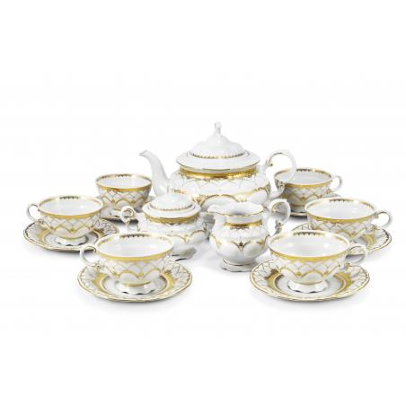 Tea set 15-piece - Wedding...