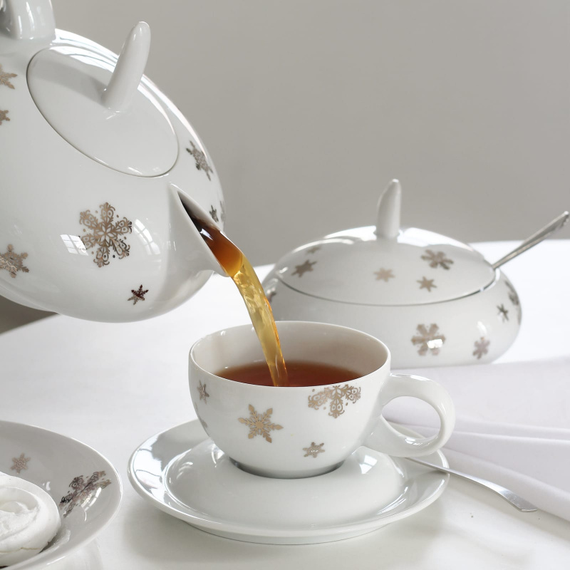 Cup and saucer 0.20 l Winter dream