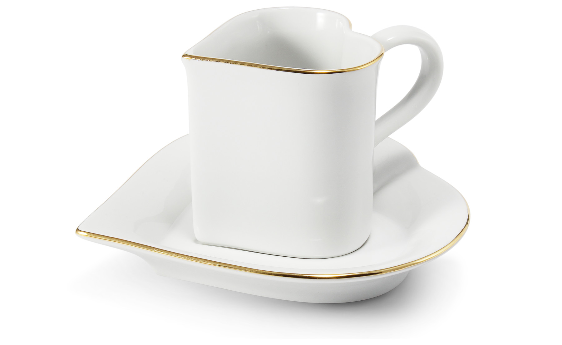 Cup and saucer 0.20 l ,,HEART,, Valentine var.5
