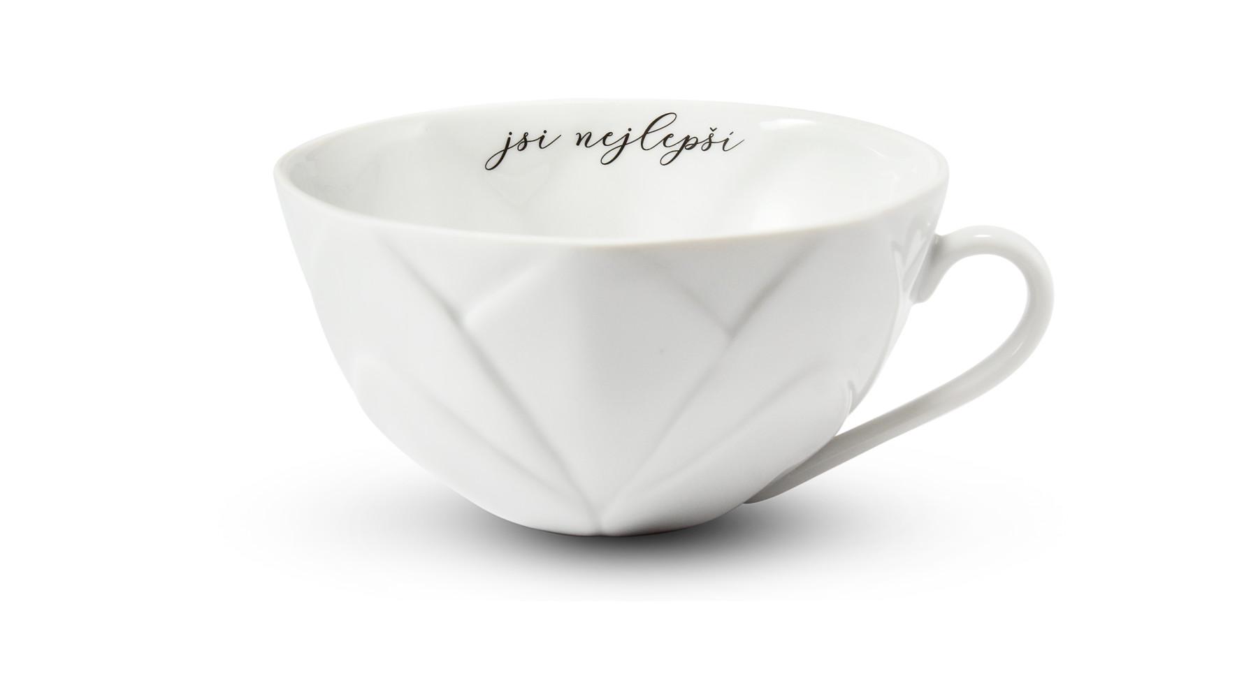 """Cup 0,30 l """"Jsi nejlepší"""" Flora decor"""