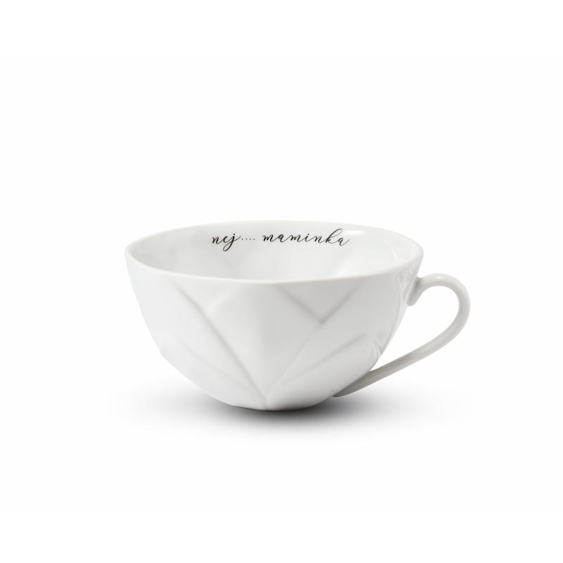 """Cup 0,30 l """"nej.... maminka"""" Flora decor"""