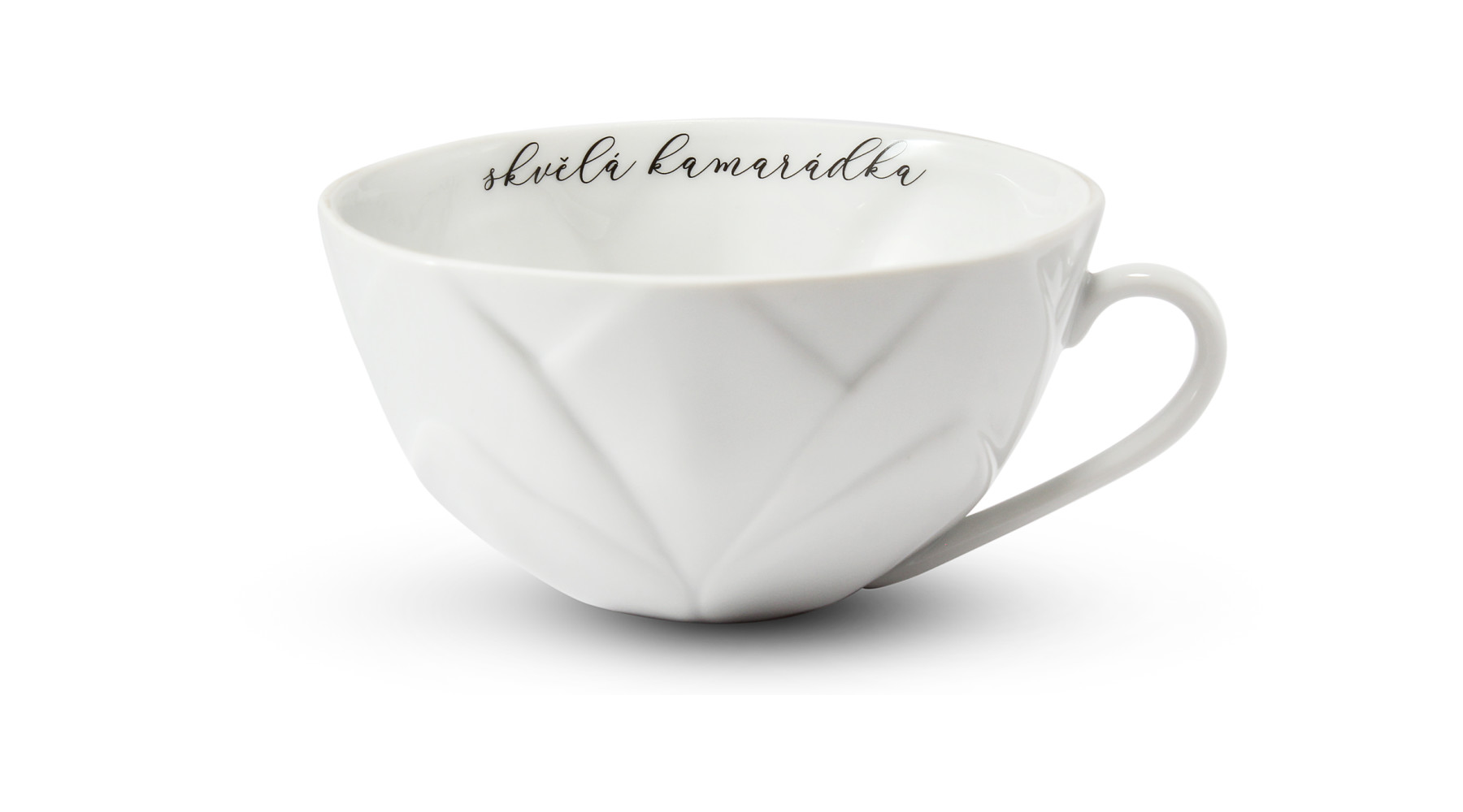 """Cup 0,30 l """"skvělá kamarádka"""" Flora decor"""