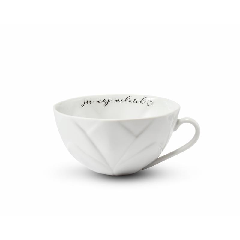 """Cup 0,30 l """"jsi můj miláček"""" Flora decor"""