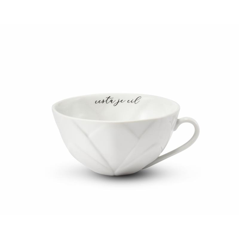 """Cup 0,30 l """"cesta je cíl"""" Flora decor"""