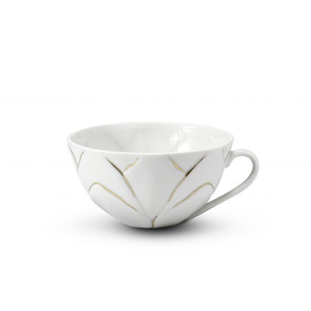 Cup 0,30 l Flora decor gold