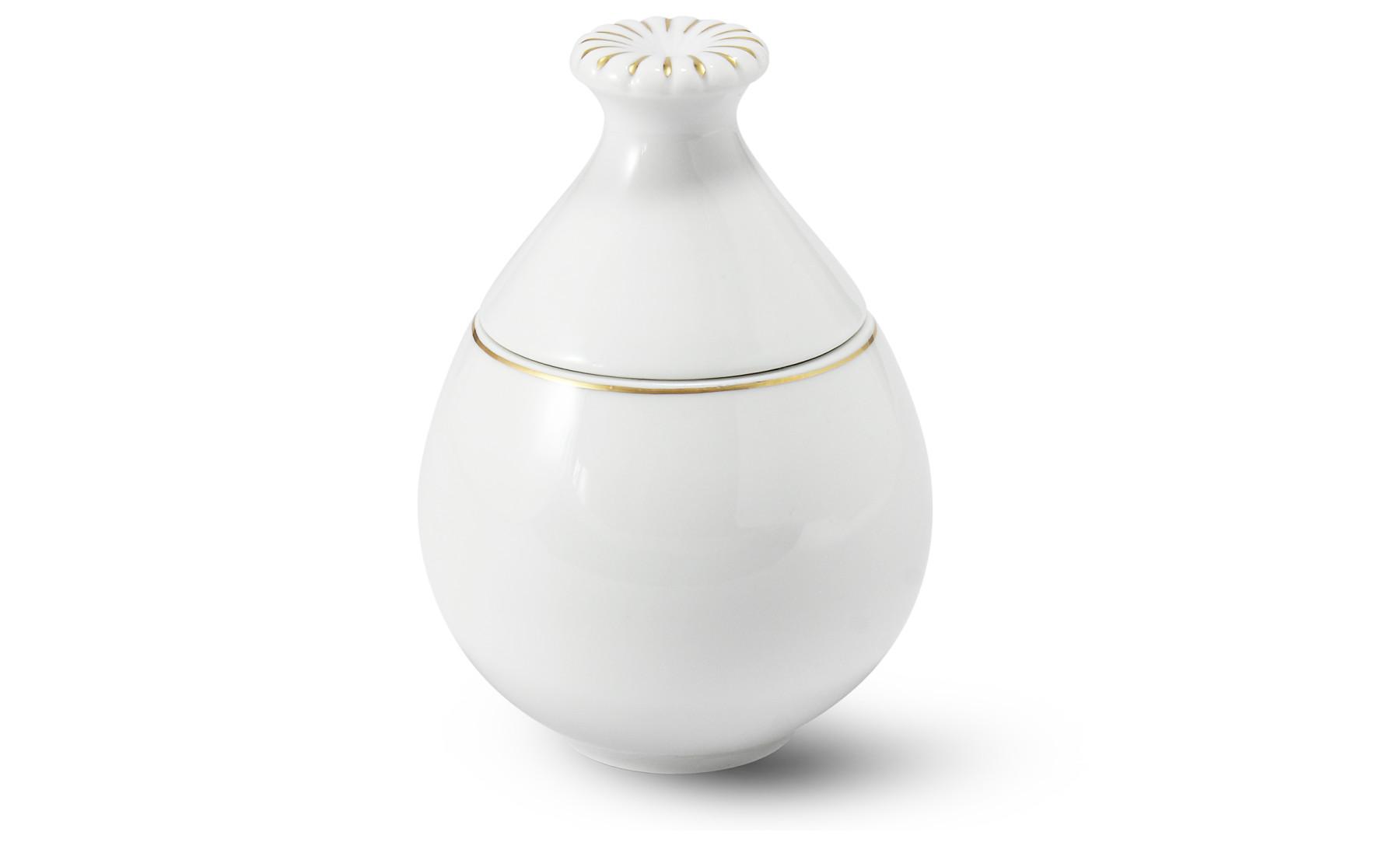 Sugar bowl 0,25 l Flora decor gold