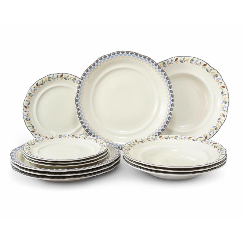 Plate set 12-piece NatureLine