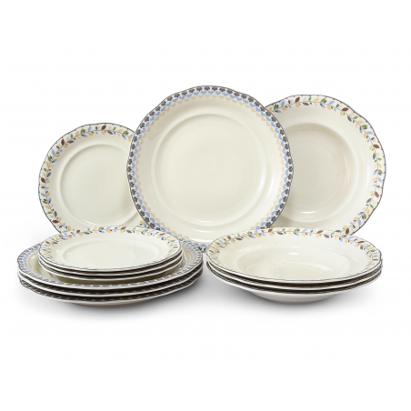 Plate set 12-piece NatureLine