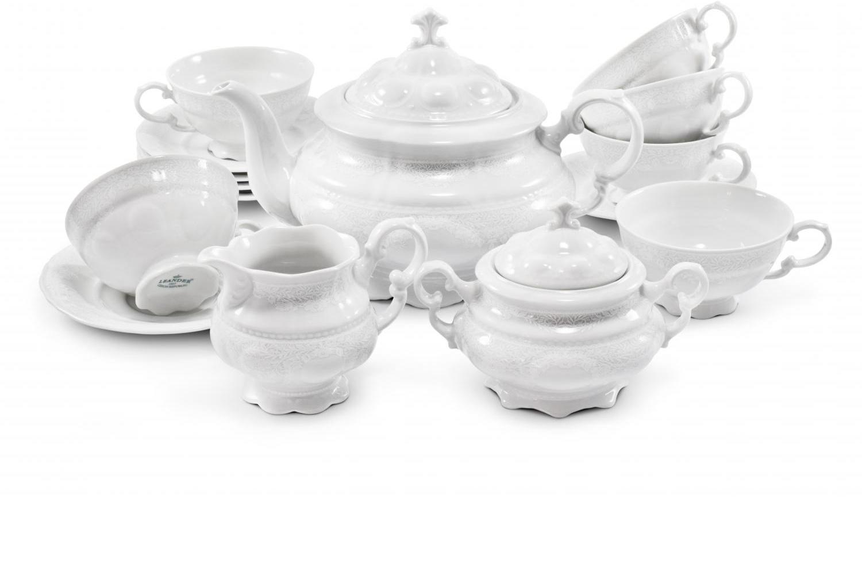 Tea set 15-piece - Lace