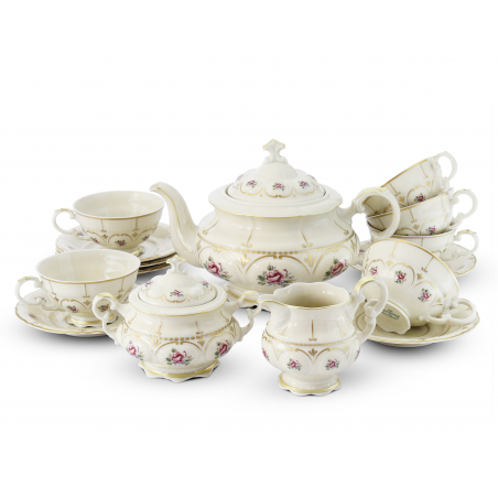 Tea set 15 pieces Bohemian...