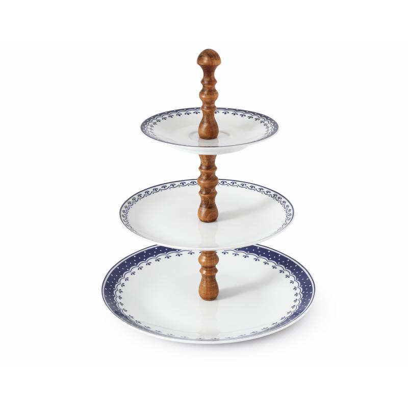 Patrový talíř HyggeLine ořech
