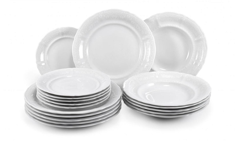 Speiseservice 25-teilig - Spitzen