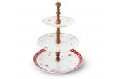 Patrový talíř Vánoční snění ořech