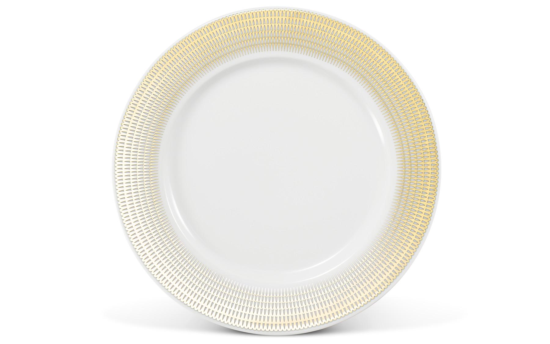 Dessert plate O21cm Golden angel wings