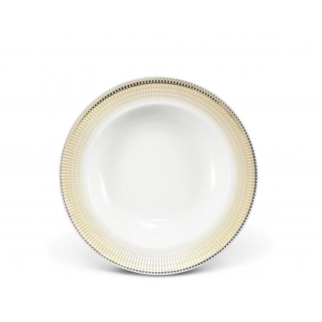 Plate deep O22cm Golden...