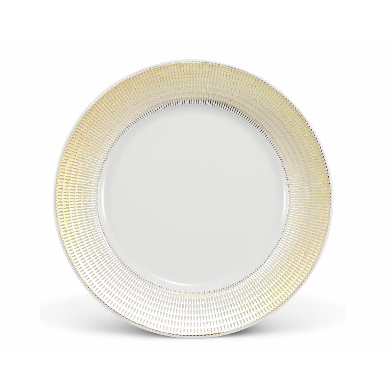 Mělký talíř 25 cm Zlatá andělská křídla