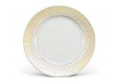 Plate flat O25cm Golden angel wings