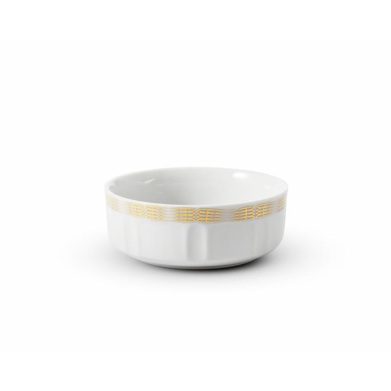 Frühstücksschale 10 cm Goldene Engelsflügel