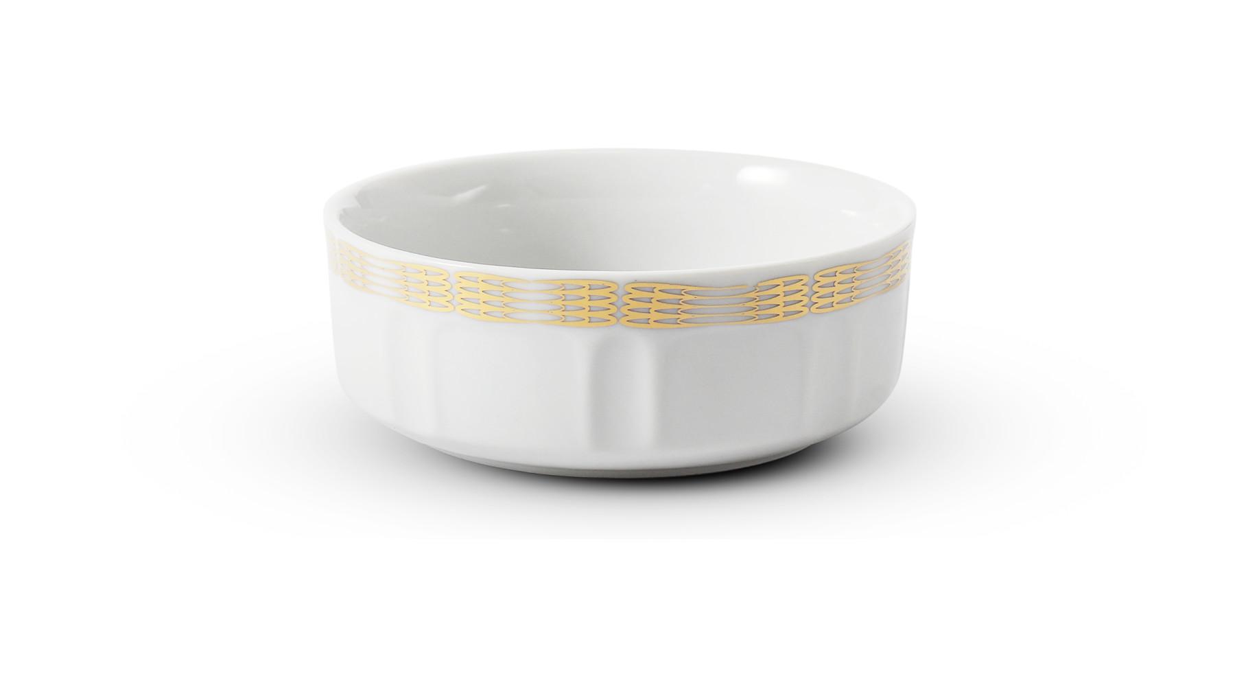 Breakfast bowl 10 cm Golden angel wings