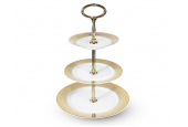 Tiered plate Golden Angel Wings