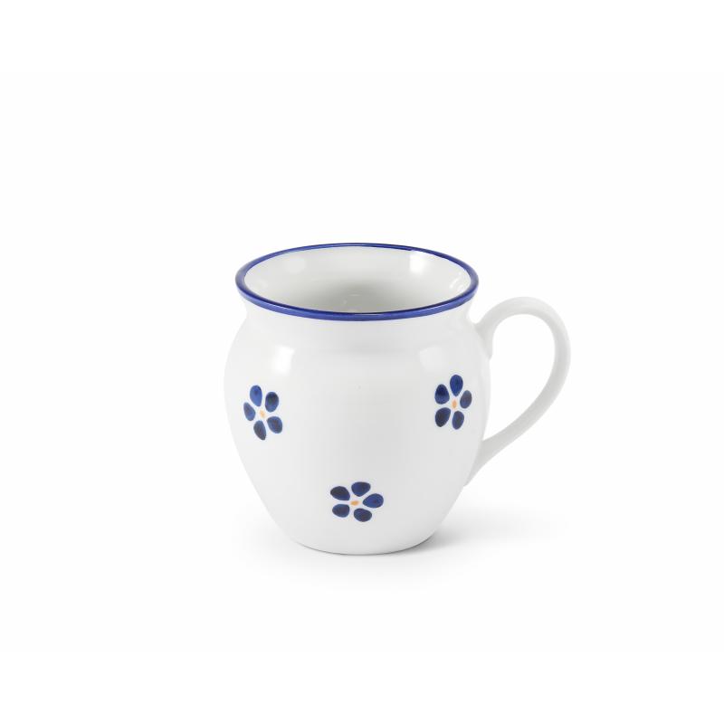 """Becher 0,30 l """"BUCLÁK"""" Blaue Blumen"""