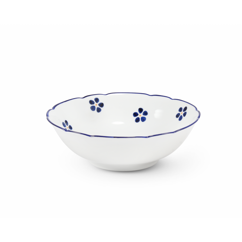 Compote bowl 16 cm Blue Blossoms