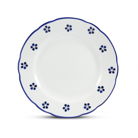 Shallow plate 25 cm Blue...