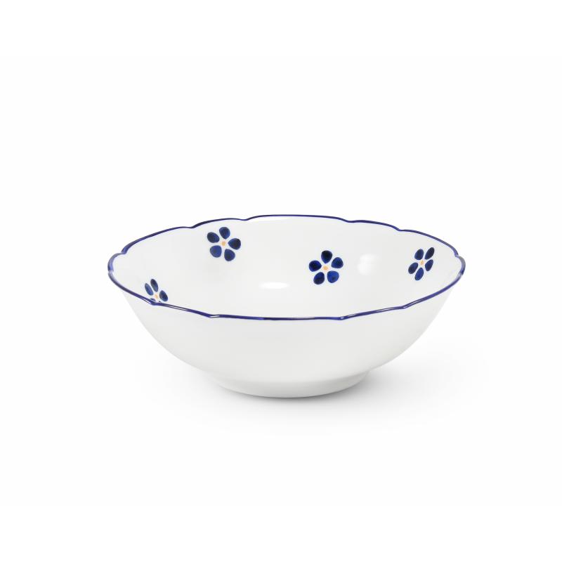 Snídaňová souprava 5 dílná Modrohrátky ze zahrádky