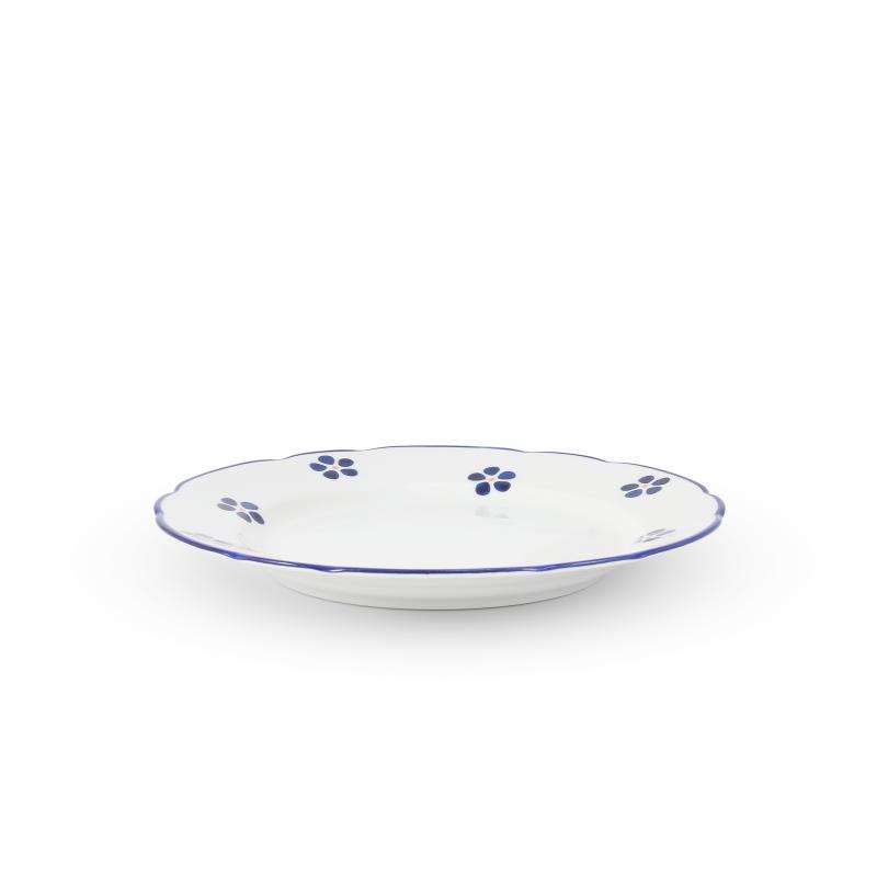 Plate set 12 pieces Blue Blossoms