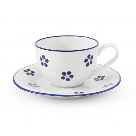 Cup with saucer 0,20 l Blue...