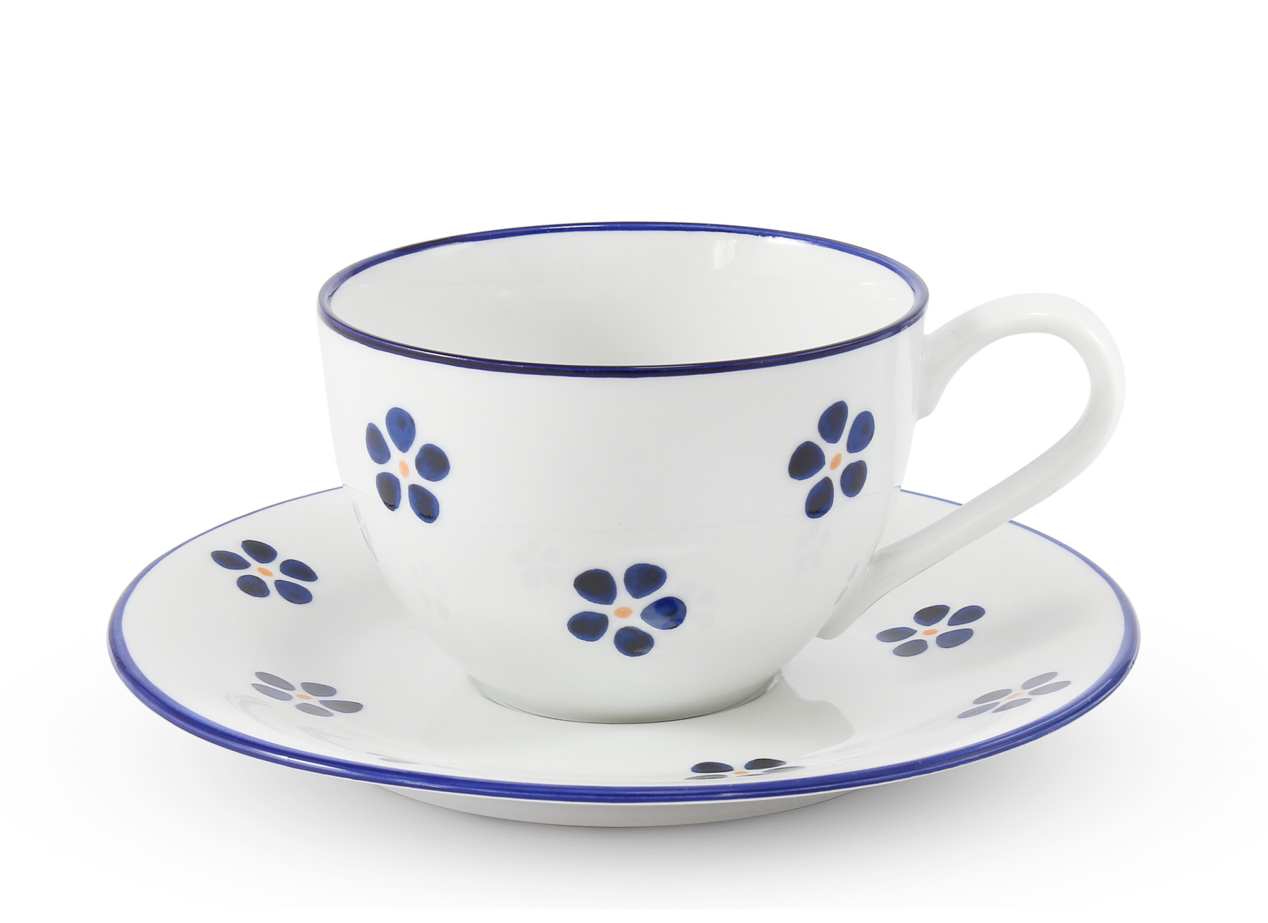 Cup with saucer 0,20 l Blue Blossoms