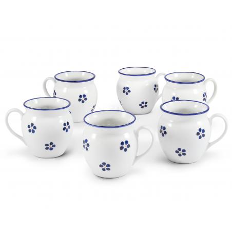 Set of six mugs 0,30 l...