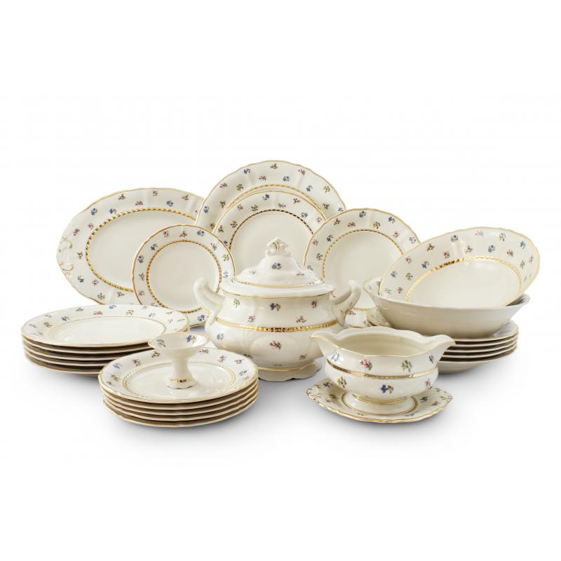 Dinner set 25-piece - Floral celebration