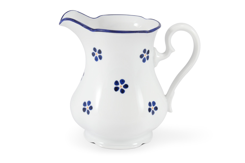 Milchkänchen 1 l Blaue Blumen